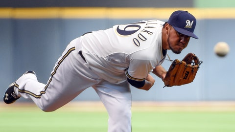 Reds at Brewers: 6/13/14-6/15/14