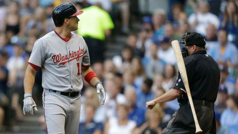Nationals at Brewers: 6/23/14-6/25/14