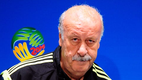 Vicente del Bosque, Spain