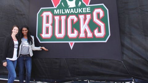 Is it November yet? The FOX Sports Wisconsin Girls can't wait for the Bucks season to tip-off!