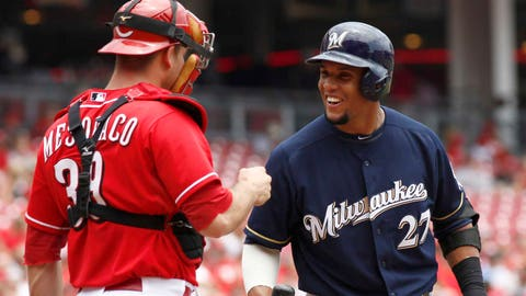 Brewers at Reds: 7/4/14-7/6/14