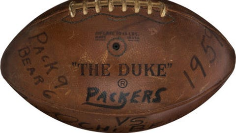 Packers collectibles auction