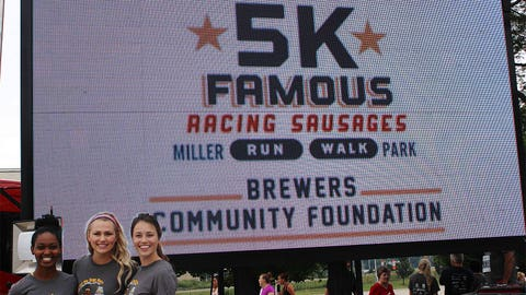 The FOX Sports Wisconsin Girls are excited to help support Fisher House Wisconsin – the beneficiary of the Brewers 5K.