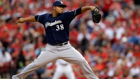 Brewers at Cardinals: 8/1/14-8/3/14