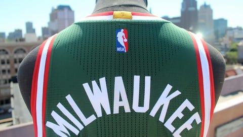 Milwaukee Bucks' new uniforms
