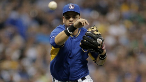 Dodgers at Brewers: 8/8/14-8/10/14