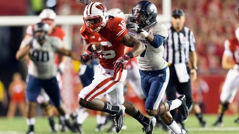 Reggie Love, Badgers wide receiver