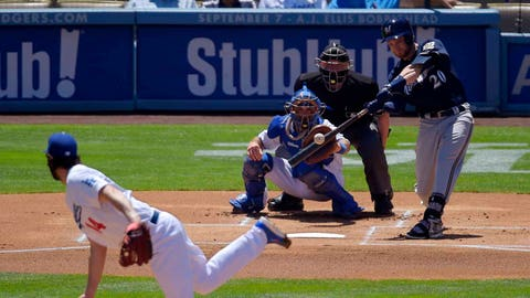 Brewers at Dodgers: 8/15/14-8/17/14