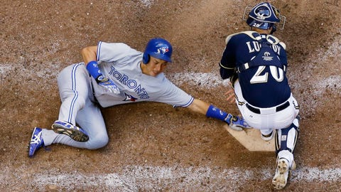 Blue Jays at Brewers: 8/19/14-8/20/14