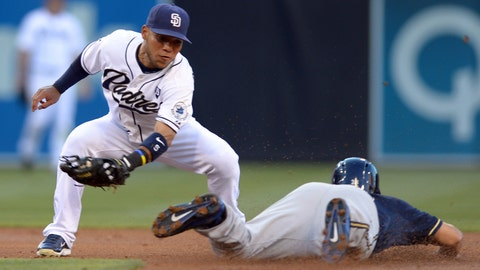 Brewers at Padres: 8/25/14-8/27/14