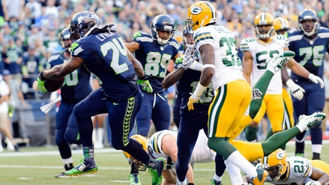 Packers at Seahawks: 9/4/14