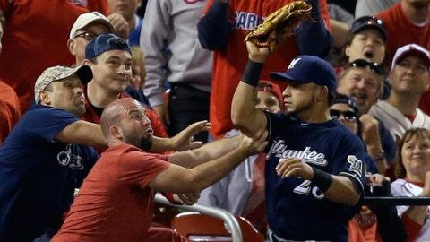 Brewers at Cardinals: 9/16/14-9/18/14