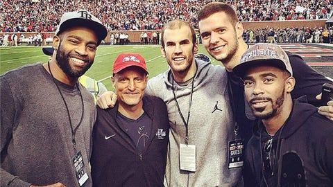 Jon Leuer, Grizzlies and ex-Badgers forward