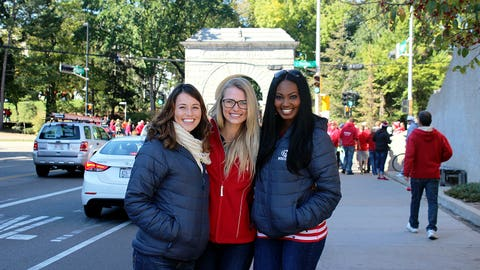 The FOX Sports Wisconsin Girls had a blast at Badgerville & are ready to head to Camp Randall.