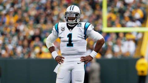 Cam Newton, QB, Panthers (concussion)