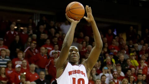 Nigel Hayes, Badgers forward