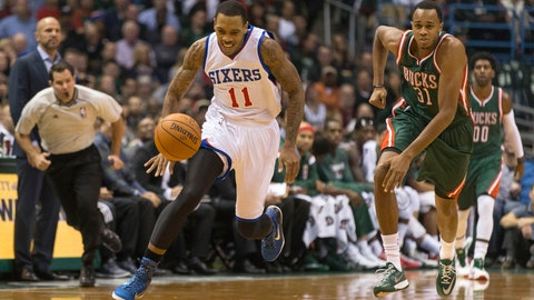 76ers at Bucks: 10/31/14