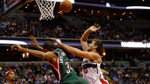 Bucks at Wizards: 11/1/14