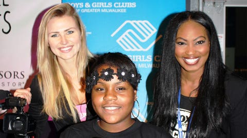 A star in the making! Club members shared details on female-focused programing – including a public service announcement group.