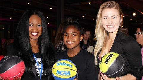 The FOX Sports Wisconsin Girls loved hearing about the Queens on the Court basketball program.