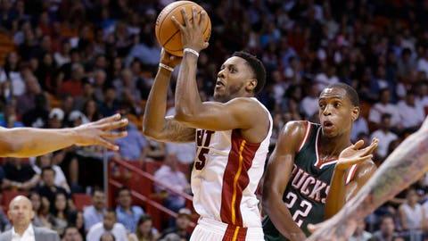 Bucks at Heat: 11/16/14