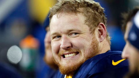 T.J. Lang, Packers guard