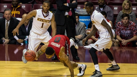 Hilltoppers at Gophers: 11/18/14