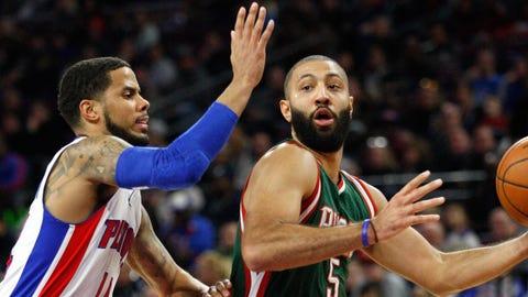 Bucks at Pistons: 11/28/14