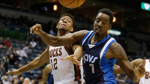 Mavericks at Bucks: 12/3/14