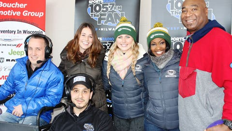 The FOX Sports Wisconsin Girls joined the guys from The Big Show for 105.7FM The Fan's 8th Annual Toy Drive, which benefits Children's Hospital.
