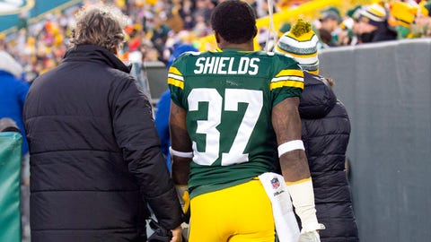 Green Bay Packers: CB Sam Shields