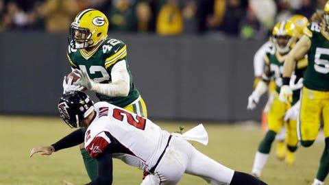 Falcons at Packers: 12/8/14