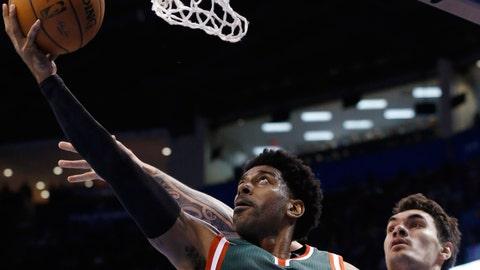 Bucks at Thunder: 12/9/14
