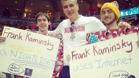 Frank Kaminsky, Badgers forward