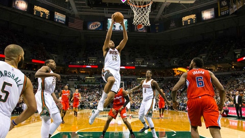 Clippers at Bucks: 12/13/14