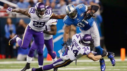 Detroit wide receiver Calvin Johnson