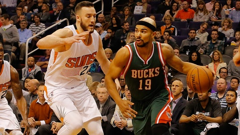 Bucks at Suns: 12/15/14