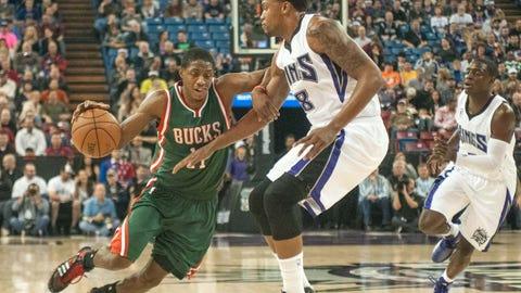 Bucks at Kings: 12/18/14