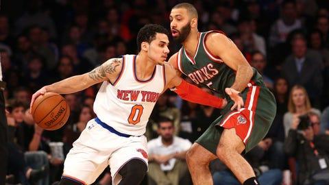 Milwaukee Bucks at New York Knicks: 1/4/15