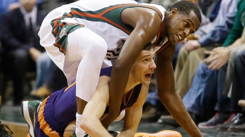 Suns at Bucks: 1/6/15