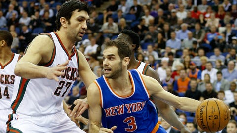 New York Knicks - Jose Calderon, Age: 34