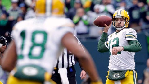 Rodgers can make receivers better, but only so much so