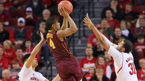 Gophers at Cornhuskers: 1/20/15
