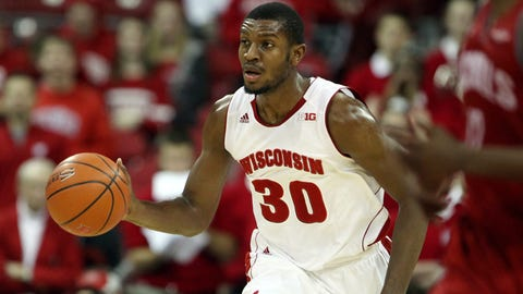 Vitto Brown, Badgers forward