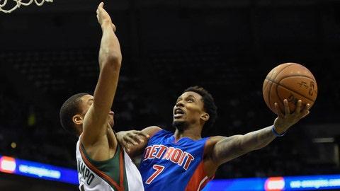 Pistons at Bucks: 1/24/15