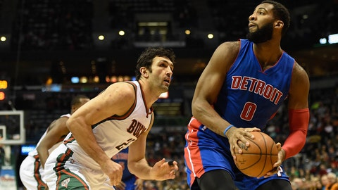 Pistons at Bucks: 1/24/15