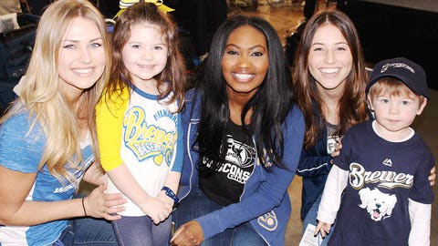 Size & age don't matter – all of the fans the FOX Sports Wisconsin Girls met at Brewers On Deck were excited for baseball season to return.