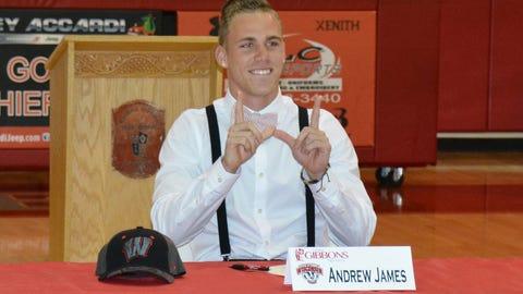Andrew James, WR; Ft. Lauderdale, Fla.