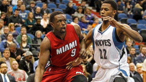Heat at Wolves: 2/4/15