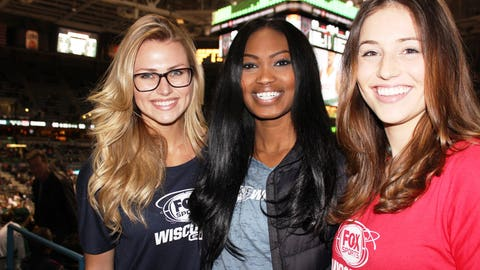The FOX Sports Wisconsin Girls are fans on the go & love having FOX Sports GO to ensure they can watch the Bucks wherever they are!